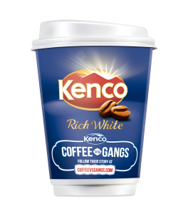 641462 - 586420 Kenco 2Go Rich White Cup