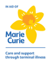 In aid logo of Marie Curie